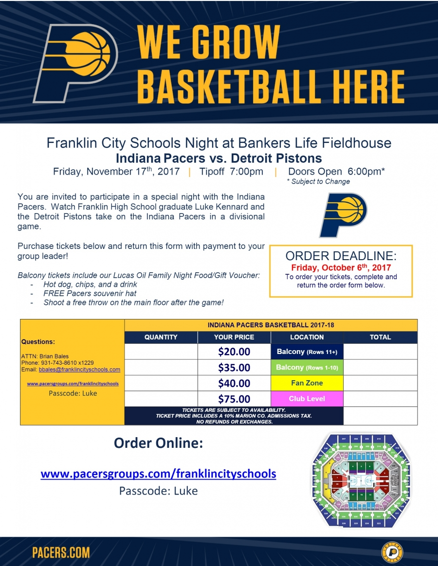 Pacers Flyer